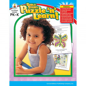 Bible Story Puzzle n Learn!, Grades PK - K