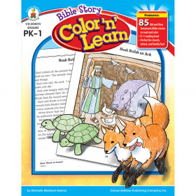 Bible Story Color n Learn!, Grades PK - 1