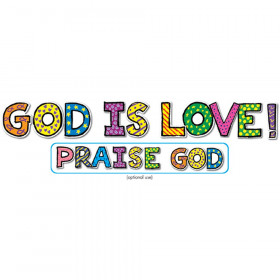 God Is Love! Bulletin Board Set