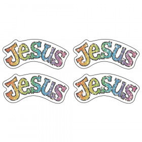 Jesus Dazzle Stickers