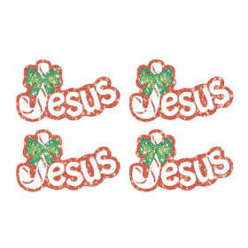 Jesus (Legend of the Candy Cane) Dazzle Stickers