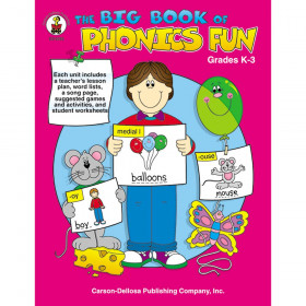 Big Book Of Phonics Fun Gr Pk-1