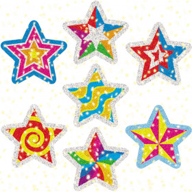 Star Power Dazzle Stickers