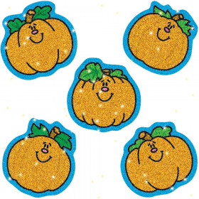 Pumpkins Dazzle Stickers, 75/pkg