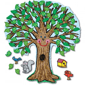 Big Tree: Kid-Drawn Bulletin Board Set