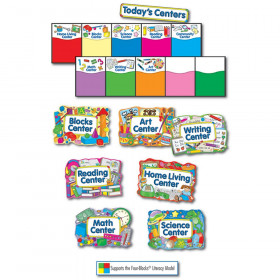 Learning Centers Bulletin Board Set