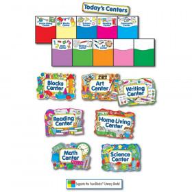 Learning Centers Bulletin Board Set