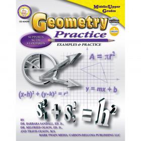 Geometry Practice Book, Grades 7 - 8
