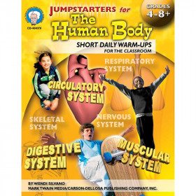 Jumpstarters for the Human Body, Grades 4 - 12