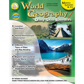 World Geography Resource Book, Grade 6-12, Paperback