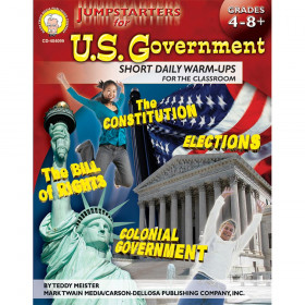 Jumpstarters for U.S. Government, Grades 4 - 8