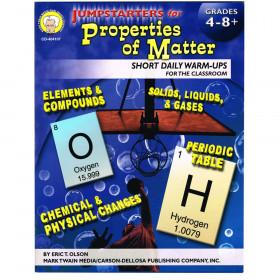 Jumpstarters for Properties of Matter, Grades 4 - 12