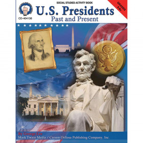 U.S. Presidents: Past & Present, Grades 5 - 8