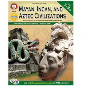 Mayan, Incan, and Aztec Civilizations, Grades 5 - 8