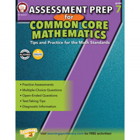 Assessment Prep for Common Core Mathematics, Grade 7