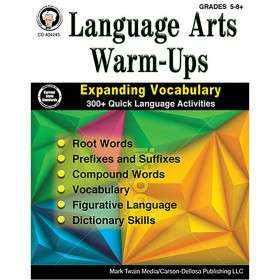 Language Arts Warm-Ups, Grades 5 - 12