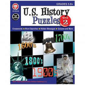 U.S. History Puzzles, Book 2, Grades 5 - 8
