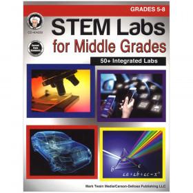 STEM Labs for Middle Grades Resource Book, Grade 5-8, Paperback