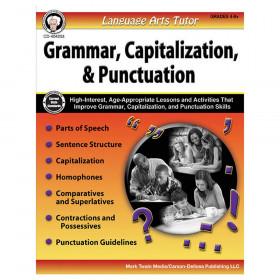 Language Arts Tutor: Grammar, Capitalization, and Punctuation Resource Book, Grade 4-8, Paperback