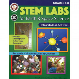 STEM Labs for Earth & Space Science Resource Book, Grade 6-8, Paperback