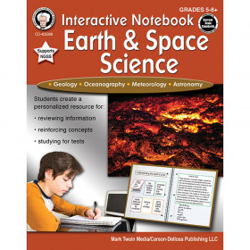 Interactive Notebook: Earth & Space Science, Grades 5-8