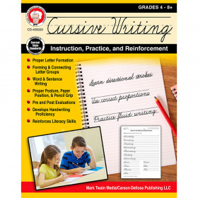 Cursive Writing Instruct Practice N Reinforcement