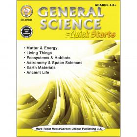 General Science Quick Starts Workbook