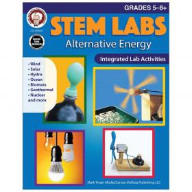 STEM Labs: Alternative Energy Workbook Grade 5-12 Paperback