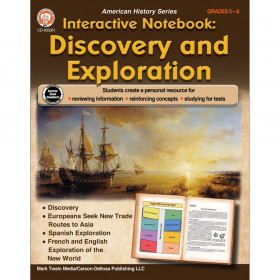 Interactive Notebook: Discovery and Exploration Resource Book, Grade 5-8