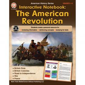 Interactive Notebook: The American Revolution Resource Book, Grade 5-8