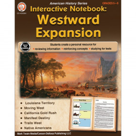 Interactive Notebook: Westward Expansion Resource Book, Grade 5-8