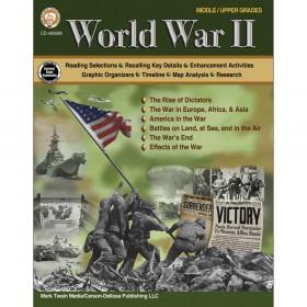 World War II Workbook, Grades 6-12
