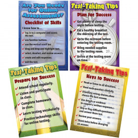 Language Arts Testing Tips  Bulletin Board Set
