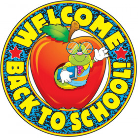 Welcome Back to School! Two-Sided Decoration