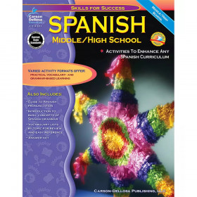 Skills for Success Spanish Resource Book, Grade 6-12, Paperback
