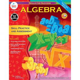 Skills for Success Algebra Resource Book, Grade 6-12, Paperback
