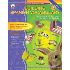 Building Spanish Vocabulary Resource Book, Grade PK-12, Paperback