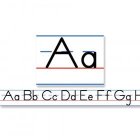 Manuscript Alphabet (Traditional) Desk Tape, Grade PK-5, 36 Rolls