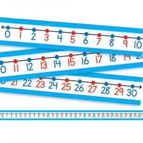Student Number Lines Desk Tape, Grade K-3, Pack of 30
