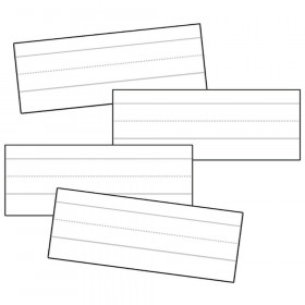 "White Word-Sized Sentence Strips, 8"" x 3"", Pack of 100"
