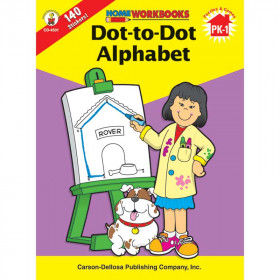 Home Workbook Dot-To-Dot Alphabet Gr Pk-1