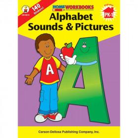 Home Workbook Alphabet Sounds & Gr Pk-1 Pictures