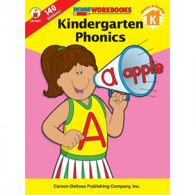 Home Workbook Kindergarten Phonics