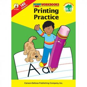 Home Workbook Printing Practice Gr K-1