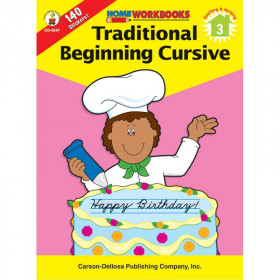Home Workbook Traditional Cursive Gr 3