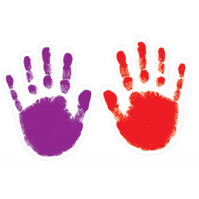 Colorful Cut-Outs Handprints Assorted Designs