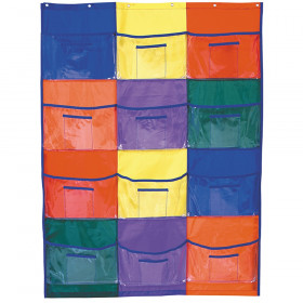 """Library/Centers Pocket Chart, 36.25"""" x 50"""""""