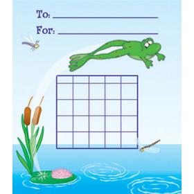 Mini Incentive Charts Frog 36/Pk 5 X 6