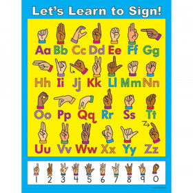 Let's Learn to Sign! Chart
