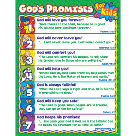 God's Promises for Kids Chart